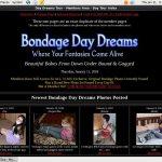 Create Bondagedaydreams.com Account